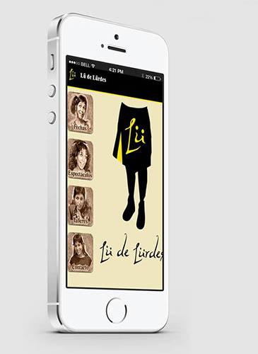 mobile web Zaragoza