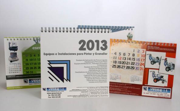 diseño calendarios Zaragoza